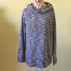 Lou& Grey marled cowl neck sweater